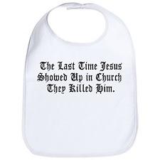 Jesus in Church Bib