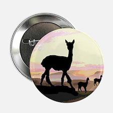 """Sunset Hills Alpacas 2.25"""" Button"""