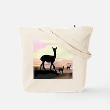 Sunset Hills Alpacas Tote Bag