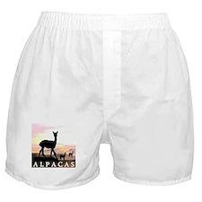Sunset Hills Alpacas Boxer Shorts
