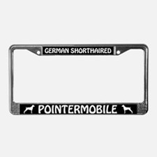 German Shorthaired Pointermobile License Frame