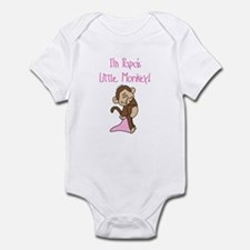 Papa's Monkey(pink) Infant Bodysuit