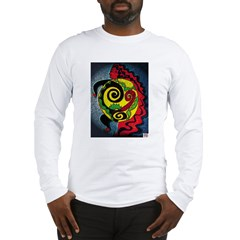 Universe in the belly of a wo Long Sleeve T-Shirt