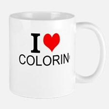 I Love Coloring Mugs