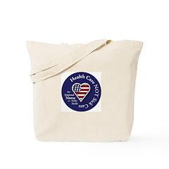 NN Patriotic Heart Tote Bag