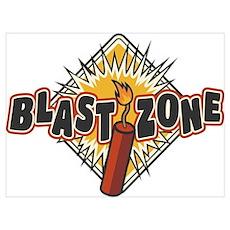 BLAST ZONE Poster
