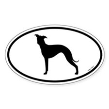 Italian Greyhound Decal