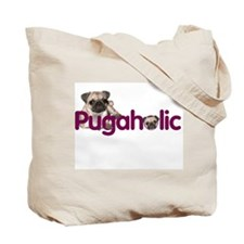 """""""Totally Puggered"""" Tote Bag"""