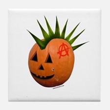Punkin' Head Tile Coaster