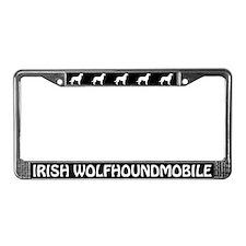 Irish Wolfhoundmobile License Plate Frame