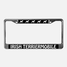 Irish Terriermobile License Plate Frame