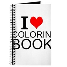 I Love Coloring Books Journal