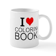 I Love Coloring Books Mugs