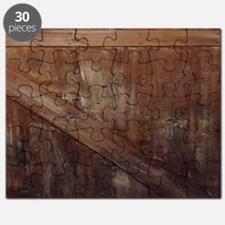 primitive farmhouse barn wood Puzzle