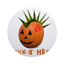 Punkin' Head Ornament (Round)