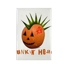 Punkin' Head Rectangle Magnet