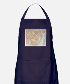 Vintage Map of The Chesapeake Bay (18 Apron (dark)