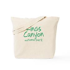 Kings Canyon National Park (Graffiti) Tote Bag