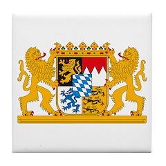 Bayern Coat of Arms Tile Coaster