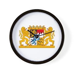 Bayern Coat of Arms Wall Clock