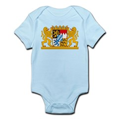 Bayern Coat of Arms Infant Creeper