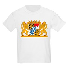 Bayern Coat of Arms Kids T-Shirt