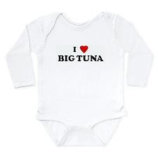 Cute I heart big foreheads Long Sleeve Infant Bodysuit
