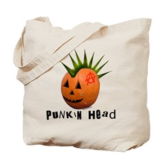 Punkin' Head Tote Bag