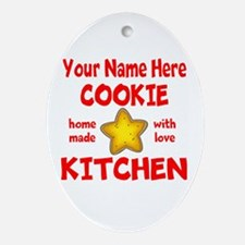 Cookie Kitchen Oval Ornament