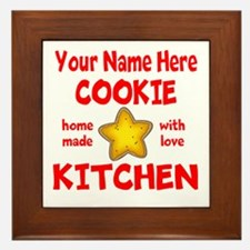 Cookie Kitchen Framed Tile