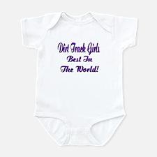 DIRT TRACK GIRLS... Infant Bodysuit