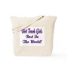 DIRT TRACK GIRLS... Tote Bag