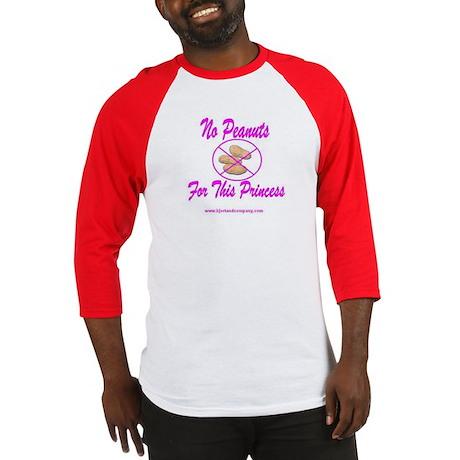 No Peanuts For This Princess Baseball Jersey