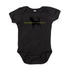 Funny Silhouette Baby Bodysuit