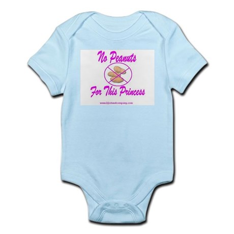 No Peanuts For This Princess Infant Bodysuit