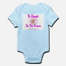 No Peanuts For This Princess Infant Bodysuit