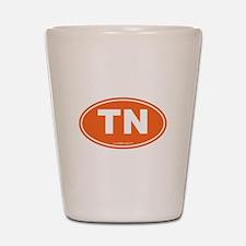 Tennessee TN Euro Oval Shot Glass