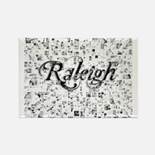 Cute Raleigh Rectangle Magnet