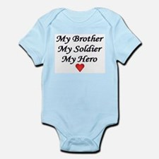 Cute Army brother Infant Bodysuit