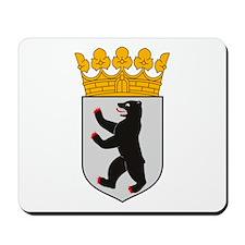 Berlin Coat of Arms Mousepad