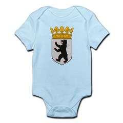 Berlin Coat of Arms Infant Creeper