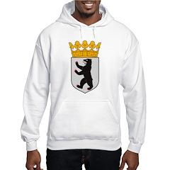 Berlin Coat of Arms Hooded Sweatshirt