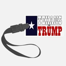 Texans For Trump Luggage Tag