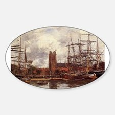 Eugene Boudin - A French Port Decal