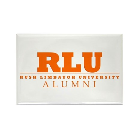 Rush Limbaugh Alumni Rectangle Magnet