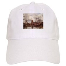 Eugene Boudin - A French Port Baseball Cap