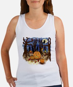 Witchy Halloween Women's Tank Top