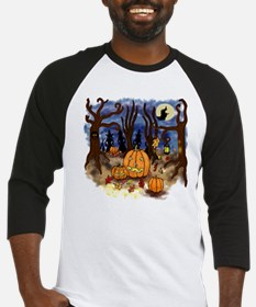 Witchy Halloween Baseball Jersey