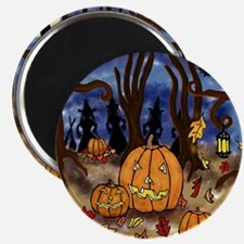 Witchy Halloween Magnet