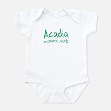 Acadia National Park (Graffiti) Infant Bodysuit